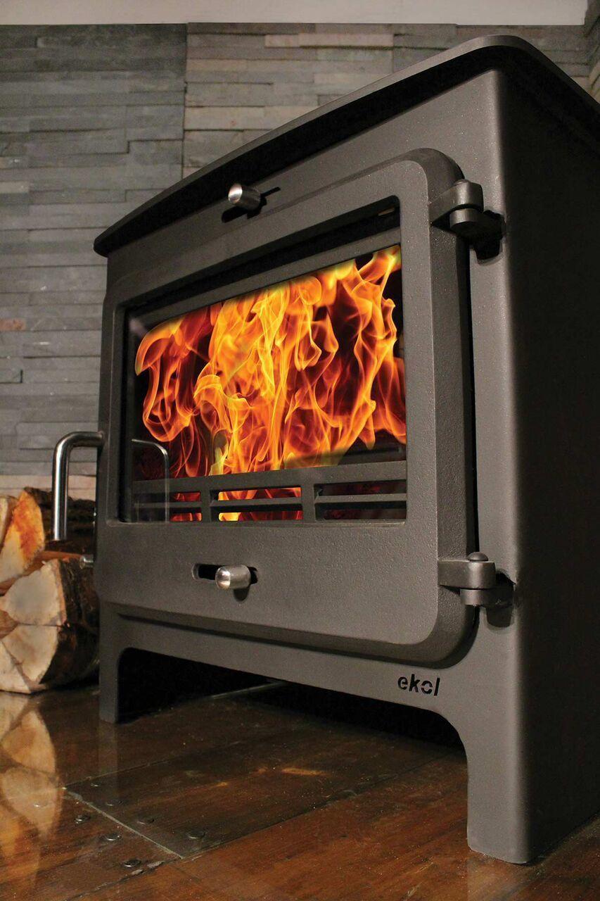 ekol clarity 8 defra approved multi fuel stove. Black Bedroom Furniture Sets. Home Design Ideas