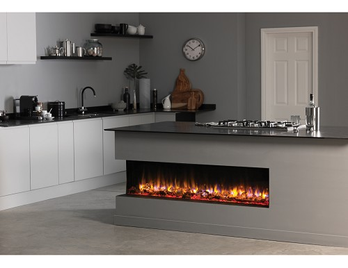 Infinity e 4D Large Format Ecoflame™ Electric Fire