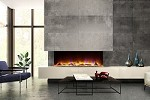 Celsi Electriflame VR 1100 - Glass Fronted 43 inch 3 Sided Fire