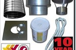 Flue Liner Package 6 inch For Wood Burning Stoves 601