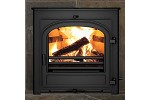 Hunter Telford 8 Inset Multi Fuel and Wood Burning Stove